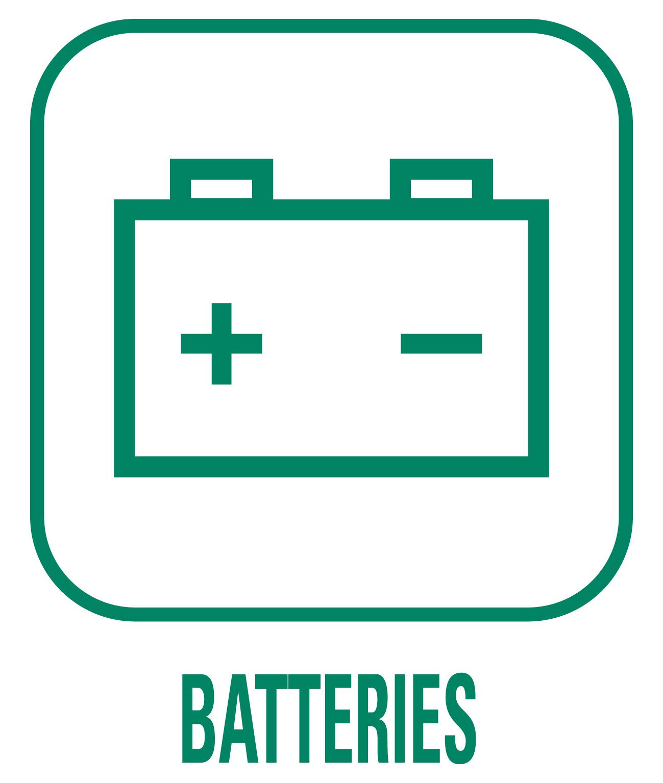 Pictogramme déchet batterie