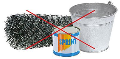 emballages métaliques refusés