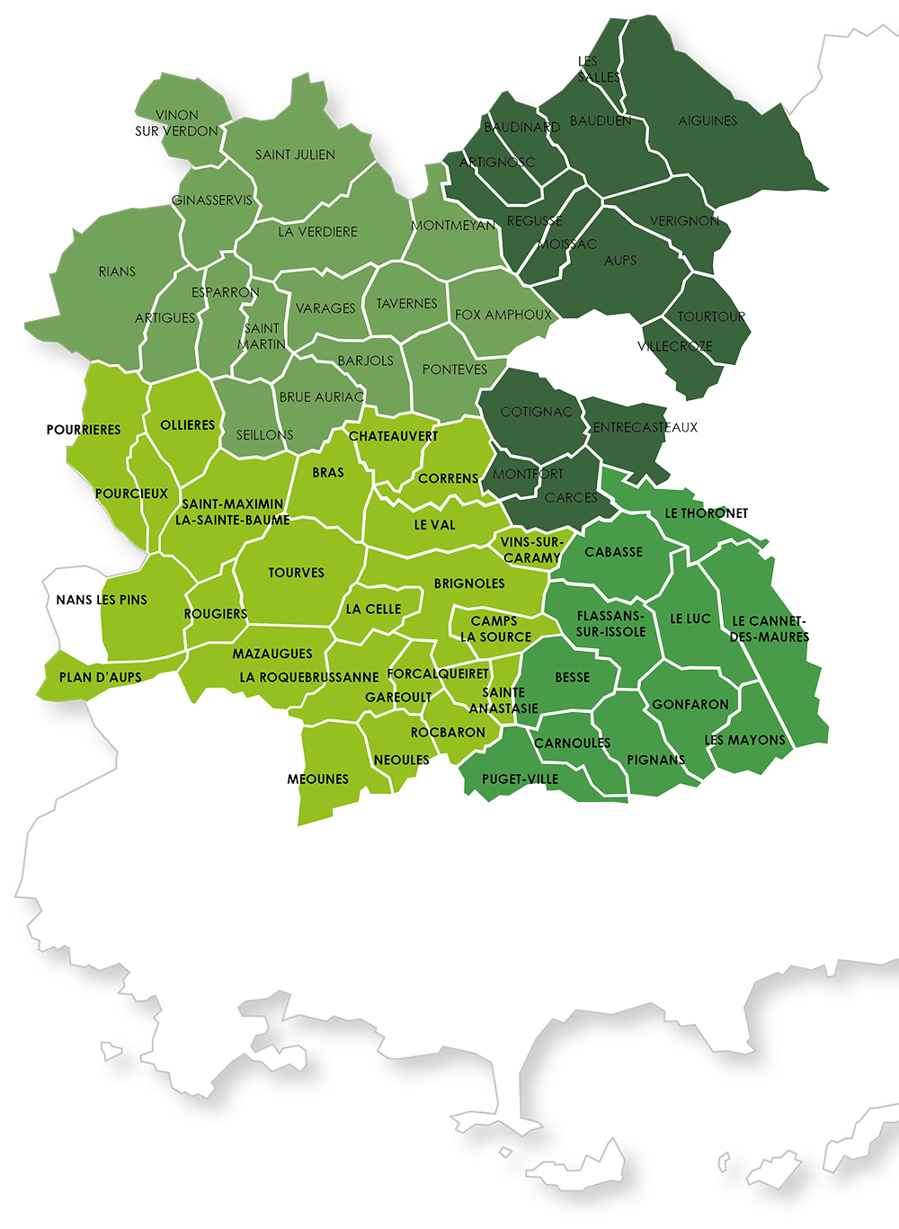 CARTE DU TERRITOIRE SIVED NG