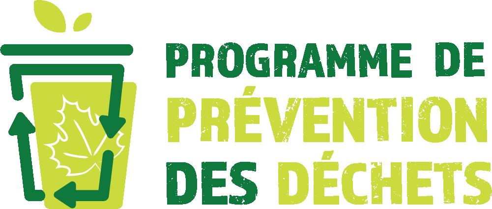 Logo du programme de prévention des déchets